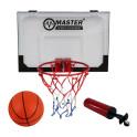 Basketbalový koš s deskou MASTER 45 x 30 cm