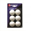 Míčky na stolní tenis SPONETA Tournament *** 6ks