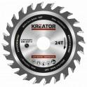 Kreator KRT020401 - Pilový kotouč na dřevo 89mm, 24T