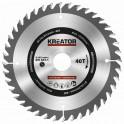 Kreator KRT020403 - Pilový kotouč na dřevo 130mm, 40T
