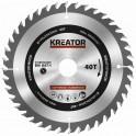 Kreator KRT020405 - Pilový kotouč na dřevo 140mm, 40T