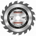 Kreator KRT020406 - Pilový kotouč na dřevo 150mm, 18T