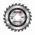 Kreator KRT020408 - Pilový kotouč na dřevo 160mm, 24T