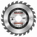 Kreator KRT020412 - Pilový kotouč na dřevo 170mm, 24T