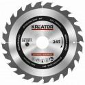 Kreator KRT020416 - Pilový kotouč na dřevo 190mm, 24T