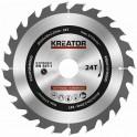 Kreator KRT020418 - Pilový kotouč na dřevo 200mm, 24T
