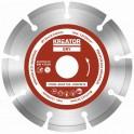 Kreator KRT080101 - Diamantový kotouč segmentový 125mm UNIVERZAL 3ks sada
