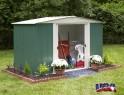 zahradní domek ARROW DRESDEN 106 zelený