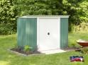 zahradní domek ARROW PT 84 zelený