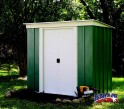 LanitPlast zahradní domek ARROW PT 64 zelený