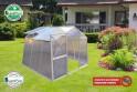 LanitPlast skleník LANITPLAST DODO BIG 8x7 PC 4 mm šedý