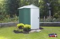 LanitPlast ARROW DRESDEN 54 zelený zahradní domek