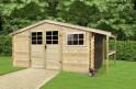 Dřevěný domek SOLID TOMAS 464 x 301 cm (P88904)