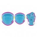 H106 MODRO-RŮŽOVÁ SOUPRAVA CHRÁNIČŮ VEL.XS NILS EXTREME