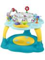 Multifunkční dětský stoleček Baby Mix modro-žlutý