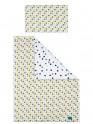 2-dílné ložní povlečení Belisima Koťátka 100/135 žluté