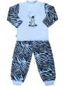 Dětské bavlněné pyžamo New Baby Zebra s balónkem modré 128 (7-8 let)