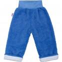 Zimní dětské tepláčky New Baby Ušáček modré 62 (3-6m)