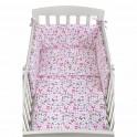 3-dílné ložní povlečení New Baby 90/120 cm růžoví motýli 90/120 cm