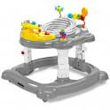 Dětské chodítko Toyz HipHop 3v1 šedé