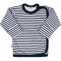 Kojenecká košilka New Baby Classic II s modrými pruhy 68 (4-6m)