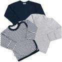 Kojenecká košilka New Baby Classic II Kluk 3ks 68 (4-6m)
