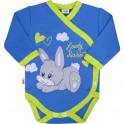 Dětské body s bočním zapínáním New Baby Lovely Rabbit 50