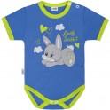 Dětské body s krátkým rukávem New Baby Lovely Rabbit 74 (6-9m)