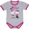Dětské body s krátkým rukávem New Baby Love Mouse 86 (12-18 m)