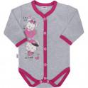 Dětské celorozepínací body New Baby Love Mouse 50