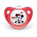 Šidítko Trendline NUK Disney Mickey Minnie 0-6m červené 0-6 m