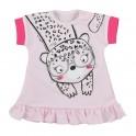 Kojenecké letní šaty Koala Sara růžové 62 (3-6m)