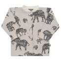 Kojenecký kabátek Baby Service Sloni šedý 68 (4-6m)