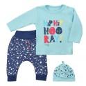 3-dílná dětská souprava Koala Hip-Hip modrá 86 (12-18m)