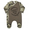 Kojenecký overal New Baby Army girl 68 (4-6m)
