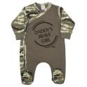 Kojenecký overal New Baby Army girl 74 (6-9m)