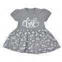 Kojenecké letní šaty Koala Love Summer grey 68 (4-6m)