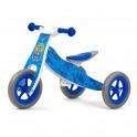 Dětské multifunkční odrážedlo 2v1 Milly Mally Look Blue Army