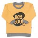 Kojenecké tričko New Baby With Love hořčicové 68 (4-6m)