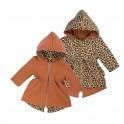 Oboustranná kojenecká mikina s kapucí Nicol Mia 98 (2-3r)
