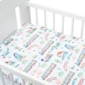 2-dílné ložní povlečení New Baby 100/135 cm vláček