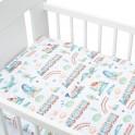 3-dílné ložní povlečení New Baby 100/135 cm vláček