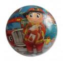 ACRA Potištěný míč 230 mm - potisk hasič