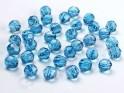 Krystalové korálky 10mm, tyrkys