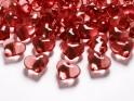 Krystalky srdce červené, 30 ks