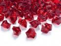 Krystalové kamínky bordó, 50 ks