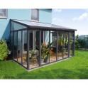 Palram Torino 3 x 4,25 zimní zahrada - šedá