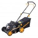 Riwall PRO RPM 4218 P travní sekačka 2v1 s benzinovým motorem bez pojezdu