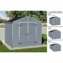 Palram Skylight 8x8 šedý zahradní domek