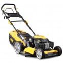 Riwall PRO RPM 5340 Pro multifunkční travní sekačka 4v1 s benzinovým motorem a pojezdem - BAZAR